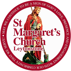 St Margaret with St Columba
