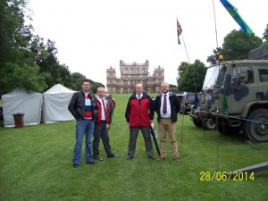 28/9/2014 Armed Forces day at Wollaton Park