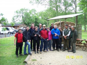 Clay Pigeon Shooting 28th June 2015