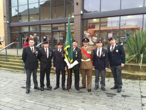 Worksop Remembrance Parade Sunday Nov. 8th 2015
